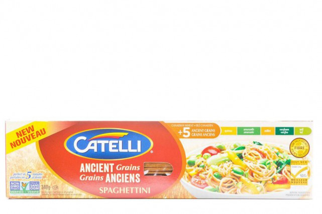 Spaghettinis aux grains anciens de Catelli... (Photo Edouard Plante-Fréchette, La Presse)