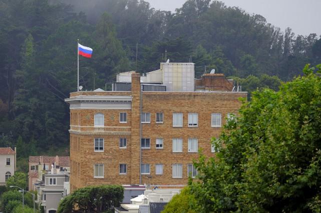 Les États-Unis ont ordonné jeudi à la Russie... (Photo Eric Risberg, archives AP)