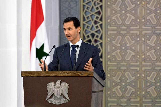Le président syrien Bachar al-Assad.... (AFP)
