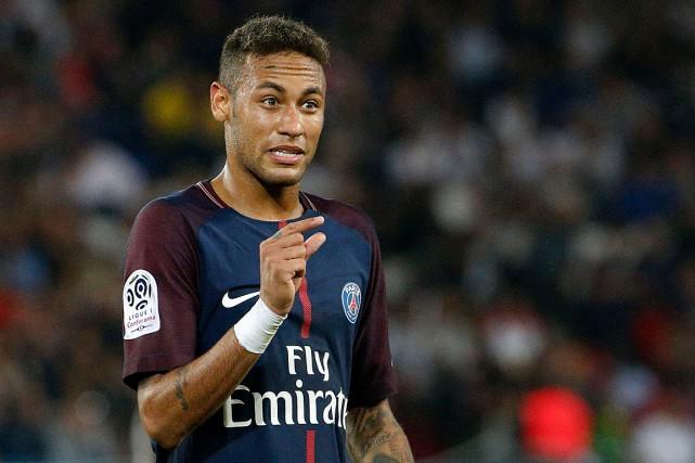 L'attaquant parisien Neymar.... (PHOTO ARCHIVES AFP)