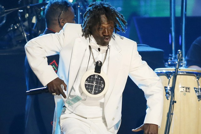 Flavor Flav du groupe Public Enemy... (PHOTO ARCHIVES AP)
