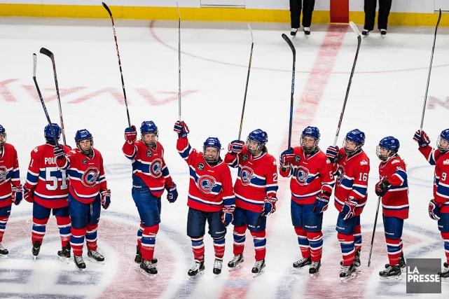 Les Canadiennes de Montréal éliront domicile dans un auditorium de Verdun... (PHOTO EDOUARD PLANTE-FRÉCHETTE, ARCHIVES LA PRESSE)