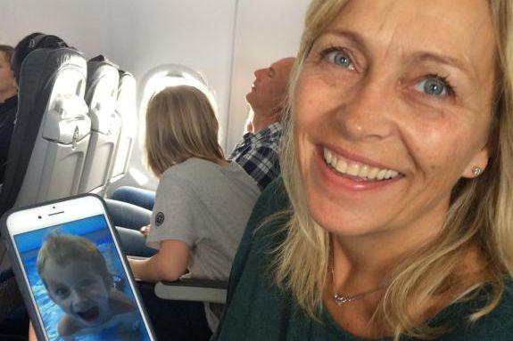 Barbro, Norvégienne d'origine, est mère au foyer et... (Photo Sophie Fouron, collaboratrice spéciale)