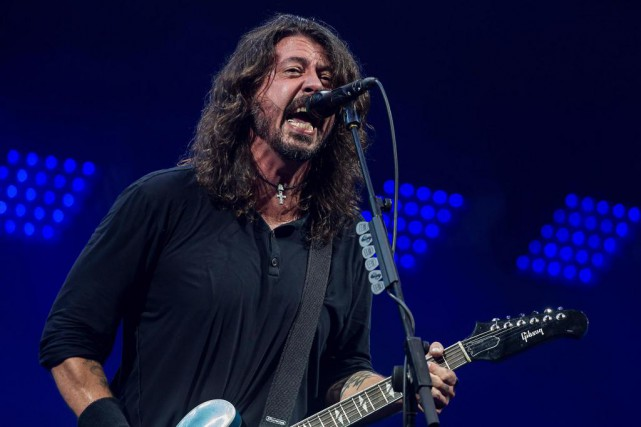 Trois ans après Sonic Highways, Dave Grohl et... (photo grant pollard, archives associated press)
