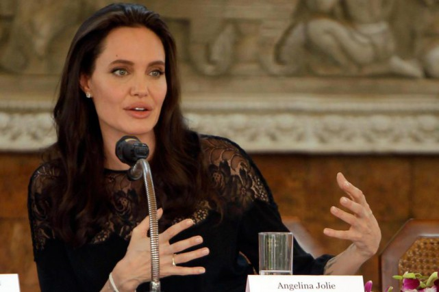 Le film First They Killed My Fatherd'Angelina Jolie... (photoHeng Sinith, archives associated press)