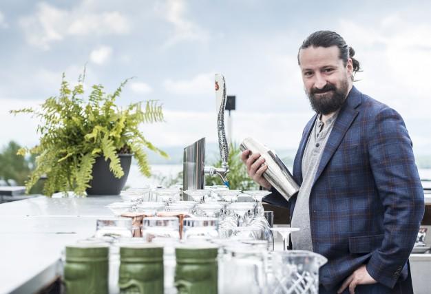Le bartender André Duncan présentera un cocktail inspiré... (Spectre Média, Jessica Garneau)