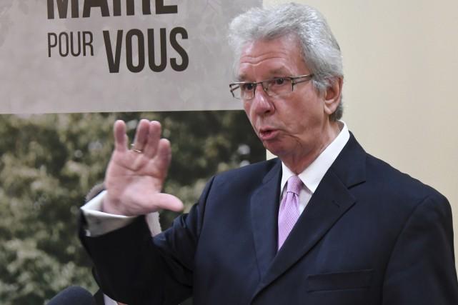 Le candidat indépendant à la mairie de Saguenay,... (Le Progrès, Michel Tremblay)