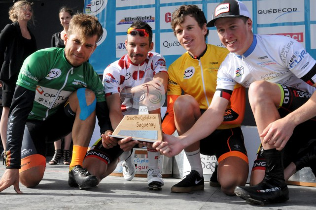 Lors des Grands Prix cyclistes de Québec et... (Archives Le Progrès, Michel Tremblay)