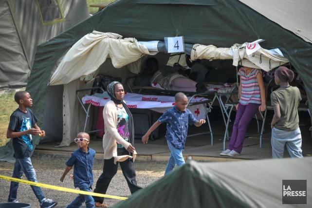 Le nombre de demandeurs d'asile au poste frontalier... (Archives La Presse)