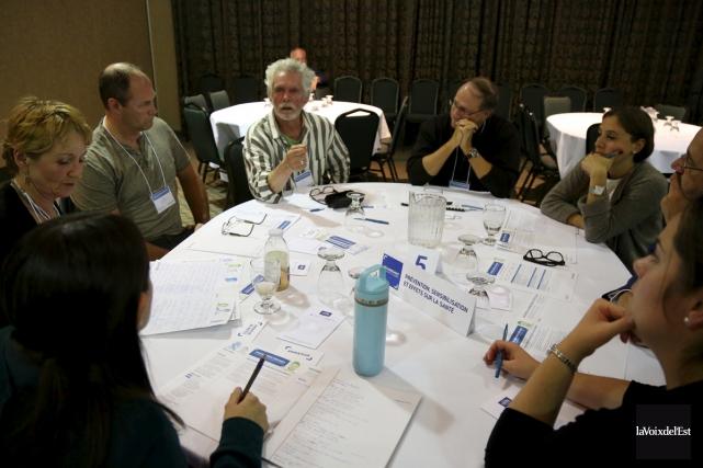La tournée de consultations sur l'encadrement du cannabis... (Julie Catudal, La Voix de l'Est)