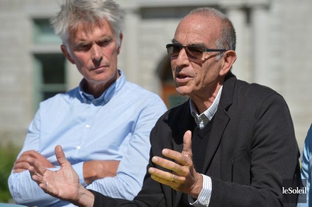 Jandrik Hoekstra, président du jury du concours international... (Le Soleil, Yan Doublet)