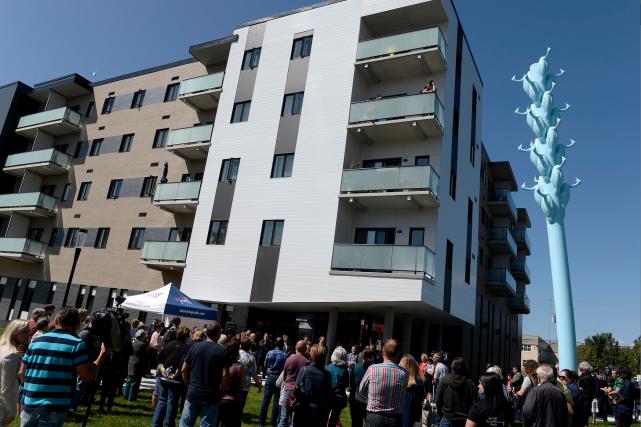 Le centre communautaire du Jardin offre 54 logements...