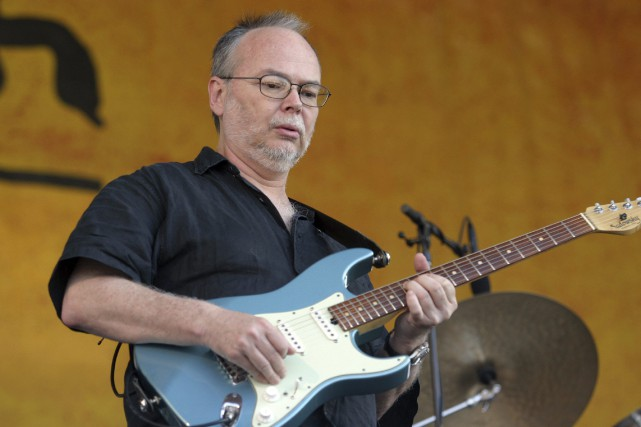 D'abord bassiste puis guitariste, Walter Becker a grandi... (Photo archives AP)