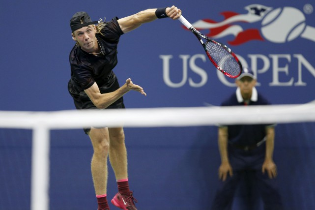 Denis Shapovalov... (AP, Kathy Willens)