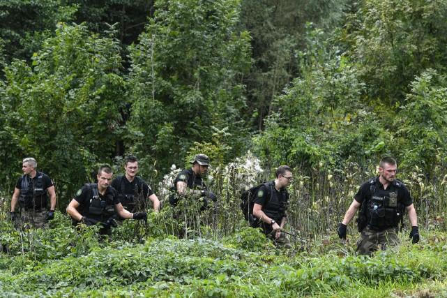 Des battues ont été organisées pour tenter de... (Photo AFP)