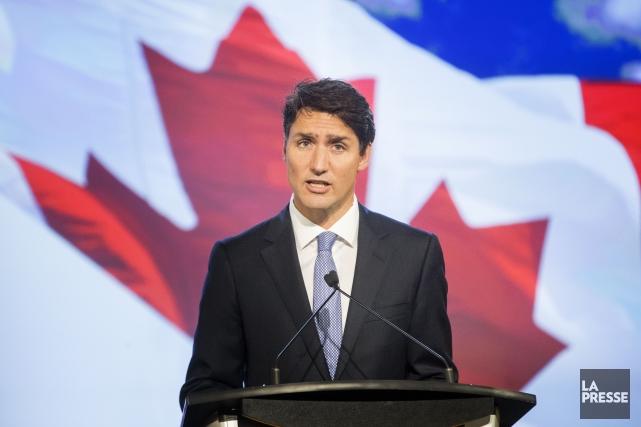 Le premier ministre canadien Justin Trudeau estime qu'en... (PHOTO MARCO CAMPANOZZI, ARCHIVES LA PRESSE)