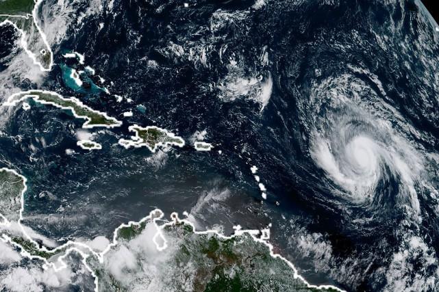 Irmaest passé lundi en catégorie 4 (sur 5),... (AFP)