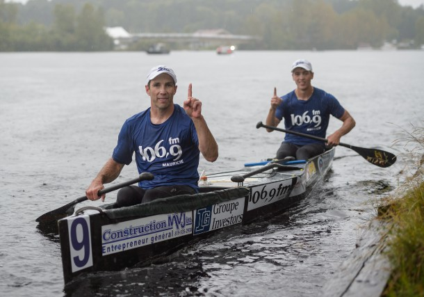 Steve Lajoie et Guillaume Blais sont les champions... (photo: Éric Massicotte)