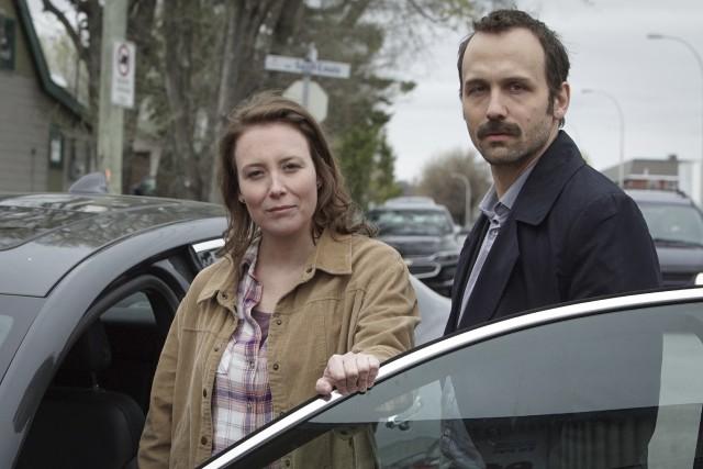 Isabelle Blais et Émile Proulx-Cloutier dans la série... (Serge Gauvin)