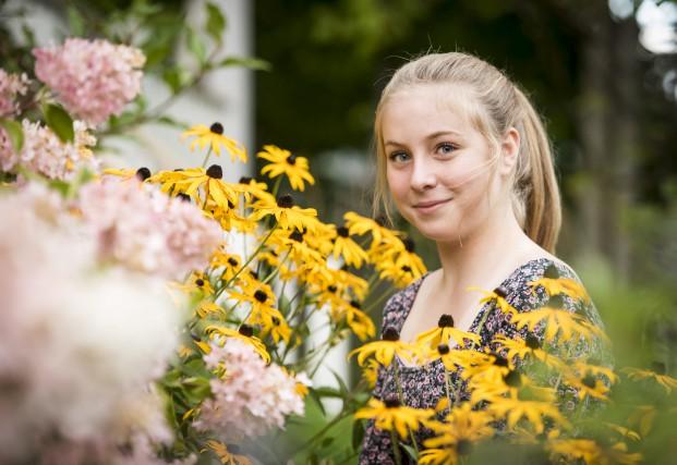 Allumée, impliquée et enjouée, voilà ce qui décrit bien la jeune Mathilde... (Spectre média, Jessica Garneau)