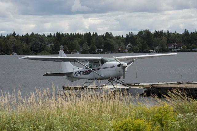 Les vols d'hydravions touristiques peuvent reprendre la fin... (Sylvain Mayer)