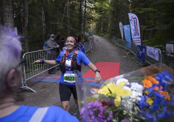 Valérie Duchemin a parcouru 35 km pour le... (Éric Massicotte)