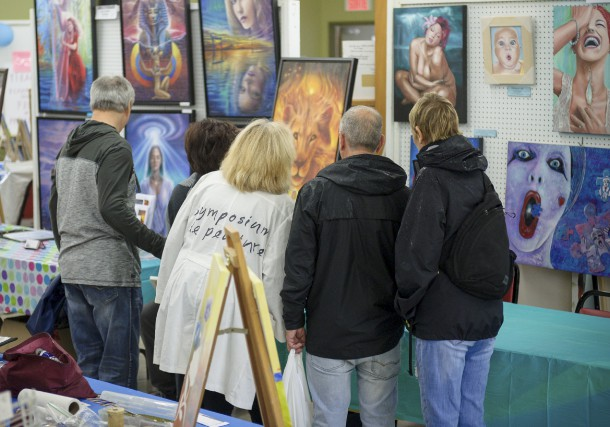 10e Symposium de peinture deSaint-Élie-de-Caxton... (Éric Massicotte)