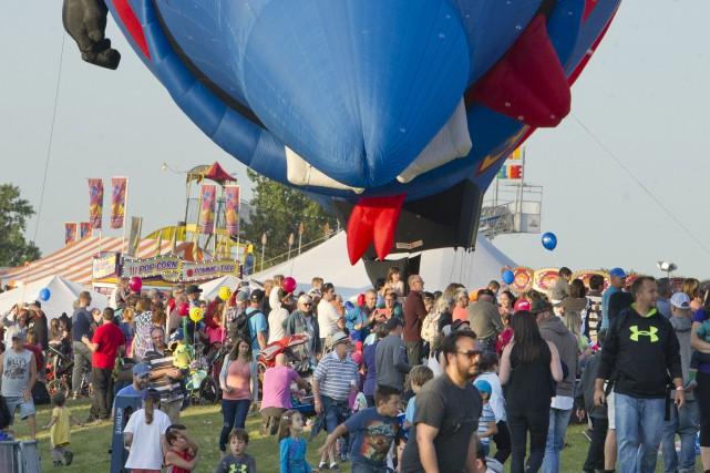 La montgolfière Super FMG.... (Martin Roy, Le Droit)