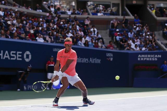 L'Espagnol Rafael Nadal n'a eu besoin que de... (Associated Press)