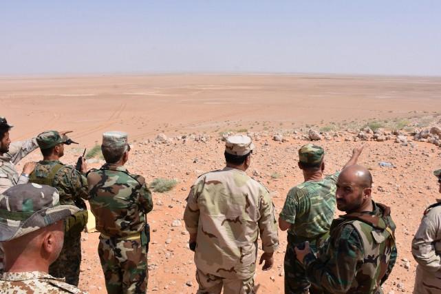 La perte de Deir Ezzor et de sa... (AFP)