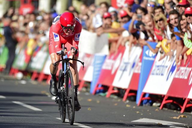 Chris Froome... (Photo Jose Jordan, AFP)