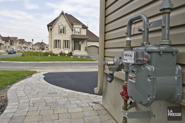Plusieurs maisons québécoises utilisent un système de chauffage... (PHOTO OLIVIER PONTBRIAND, ARCHIVES La Presse)