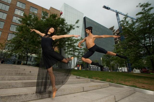 Myriam Mechaiekh Simon et Constantine Allen, tous deux... (Photo Martin Chamberland, La Presse)