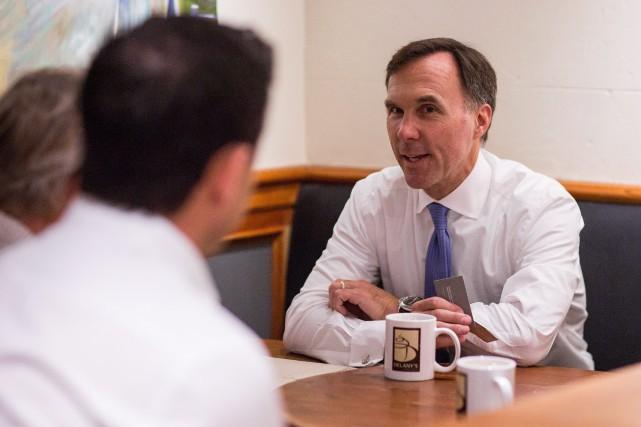 Le ministre fédéral des Finances, Bill Morneau... (Photo Ben Nelms, La Presse Canadienne)