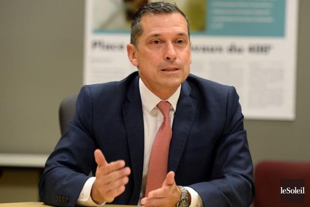Le président-directeur général de la Fédération des cégeps,... (Photo Erick Labbe, Le Soleil)