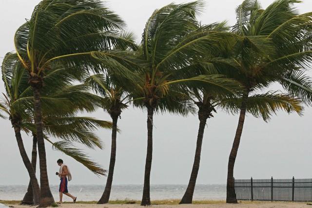 Les touristes à Key West, une station balnéaire très prisée dans le sud de la... (PHOTO REUTERS)