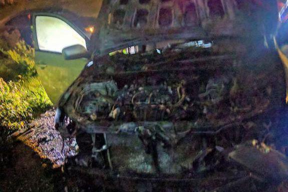 La voiture de MohamedLabidi a été incendiée à... (tirée de la page Facebook du centre culturel islamique de Québec)