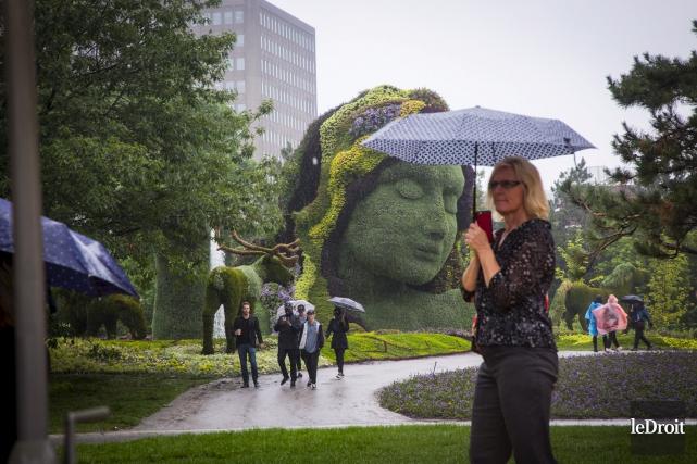 Parlant de météo capricieuse, Tourisme Outaouais ne nie... (Simon Séguin-Bertrand, Le Droit)