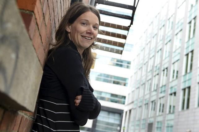 La conteuse Arleen Thibault lance un livre-disque tiré... (Le Soleil, Yan Doublet)