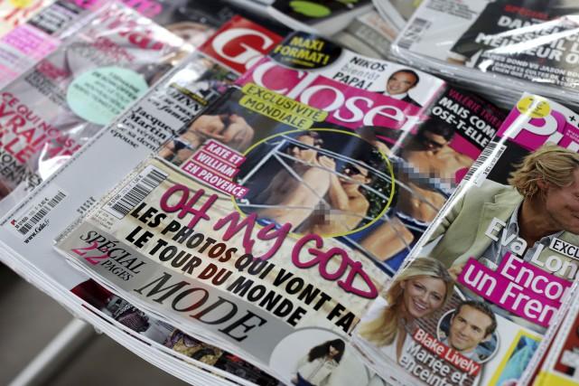En septembre 2012, le magazine français Closer avait... (AFP, Thomas Samson)