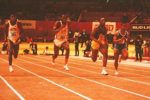 L'ancien triple olympien Charles-Louis Seck (à droite sur... (Courtoisie)