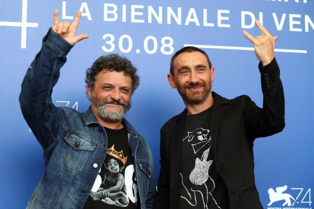 Les frères Marco et Antonio Manetti ont présenté... (PHOTO REUTERS)