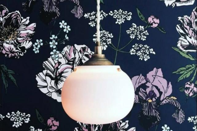 L'atelier Make fait maintenant des lampes. Ici, celles... (Photo tirée de la page Facebook de l'Atelier Make)