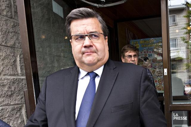 Le maire de Montréal, Denis Coderre.... (Photo Patrick Sanfacon, La Presse)