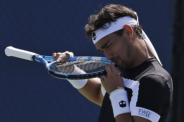 Fabio Fognini... (Photo Michael Noble, AP)