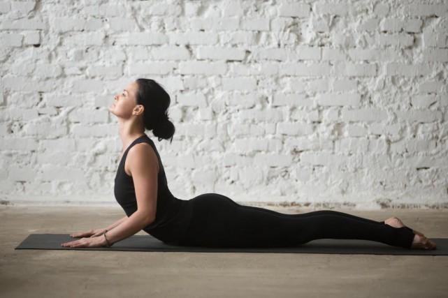 Les bienfaits de la pratique du yoga, associant... (Photo Thinkstock)