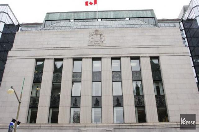 La Banque du Canada a relevé mercredi le taux cible du financement à un jour... (Archives La Presse)