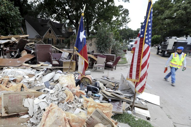 Harvey a étél'une des catastrophes naturelles les plus... (PHOTO AP)
