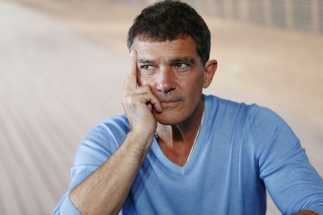Antonio Banderas au Festival du film de Deauville.... (Photo archives AFP)