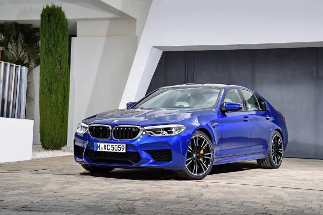 La BMW M5... (PHOTO FOURNIE PAR LE CONSTRUCTEUR)